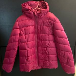 Hooded Frost-Free Puffer Jacket for Girls